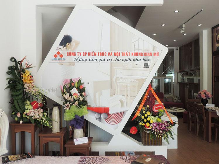 san pham mau tai showroom