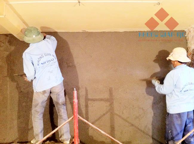 Đội thi công xây dựng - sửa chữa nhà của KHÔNG GIAN MỞ